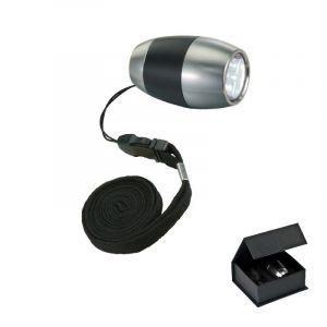 LED-Leuchte in schwarz zum Umhängen