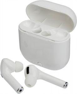 Weisse, kabellose In-Ear-Kopfhörer 5.0 BT + EDR