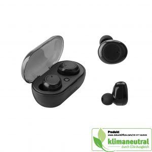 True-wireless earbuds